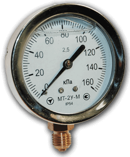 Манометры МТ-2У (глицерин), диаметр 63 мм