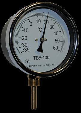 Термометры ТБУ-100 (радиальные)