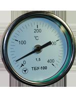 Термометры ТБУ-63, ТБУ-100 нерж.(радиальные, осевые)