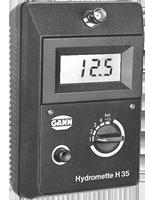 GANN HYDROMETTE H 35 — Электронный измеритель влажности древесины