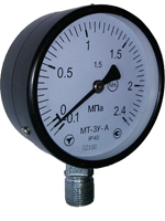 Аммиачные манометры МТ-3У, диаметр 100 мм