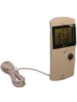 Термометр с возможностью измерения температуры в двух точках с часами МТ-1
