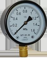 Манометры МТ-3У, диаметр 100 мм.