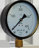 Манометры МТ-3У, диаметр 100 мм.(бюджетный вариант)